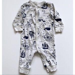 4/$10 Carter's footless pajamas